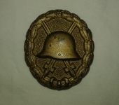 Imperial German Wound Badge in Gold