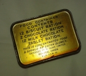 Canadian Ration Tin Unopened