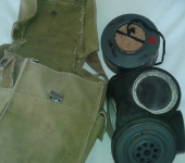 D-Day Pattern Gas Mask