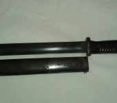 Matching Numbers 1940 Dated Mauser Bayonet