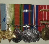 RCAF Second War Medal Group
