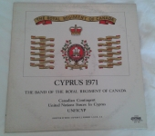 Royal Regiment of Canada in Cyprus 1971 Album