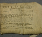 1918 Dated Field Dressing  Pack