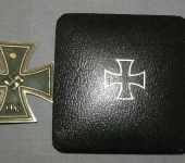 1939 Iron Cross 1st Class1939 and Case