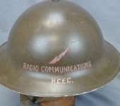 Halifax Civil Emergency Corps  Second War Helmet