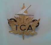Trans Canada Airlines Pilots Cap Badge