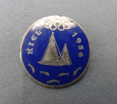 German 1936 Olympic Sailing Pin