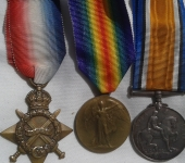 First War Trio to Loyal North Lancashire Regiment