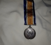 British War Medal to a Captain