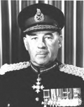 Portrait of Brigadier Edward Chester Plow CBE, DSO, CD