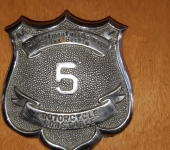 Motorcycle Constable's Badge