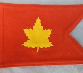 Canadian Divisional Commander Pennant