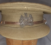 First War Visor With General List Badge